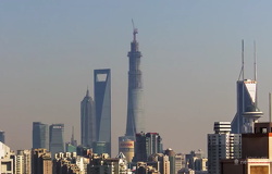Image of Amazing time-lapse of China's tallest building