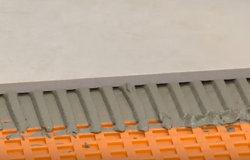 Image of Schluter's DITRA flooring works