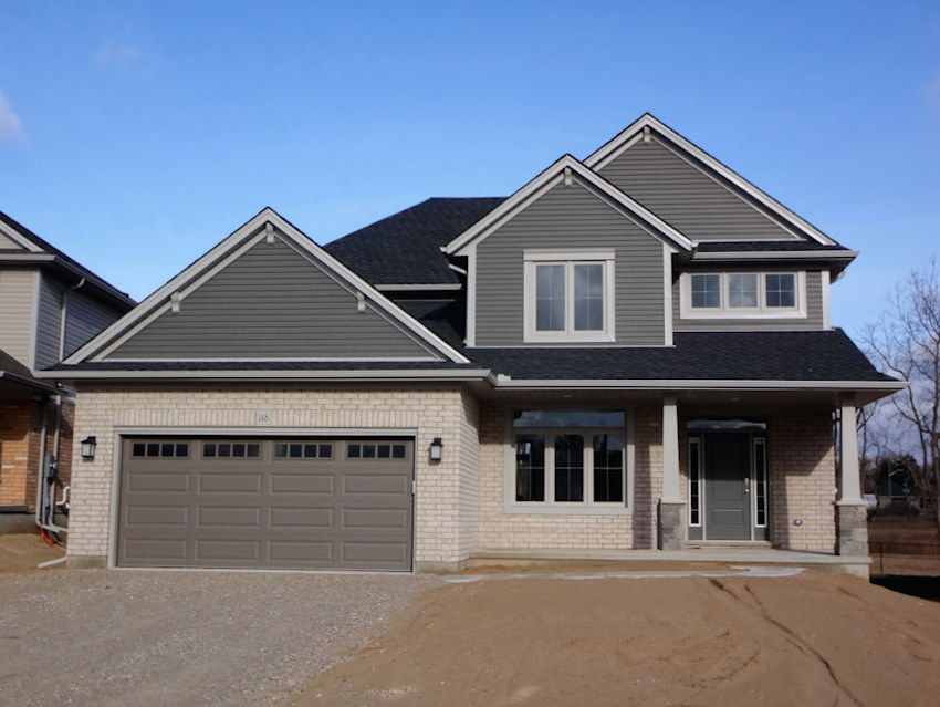 Hayhoe homes ontario builder pricing plans for Home construction bids