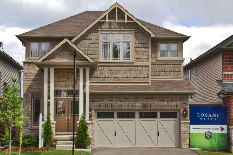 Losani Homes located at Stoney Creek, Ontario