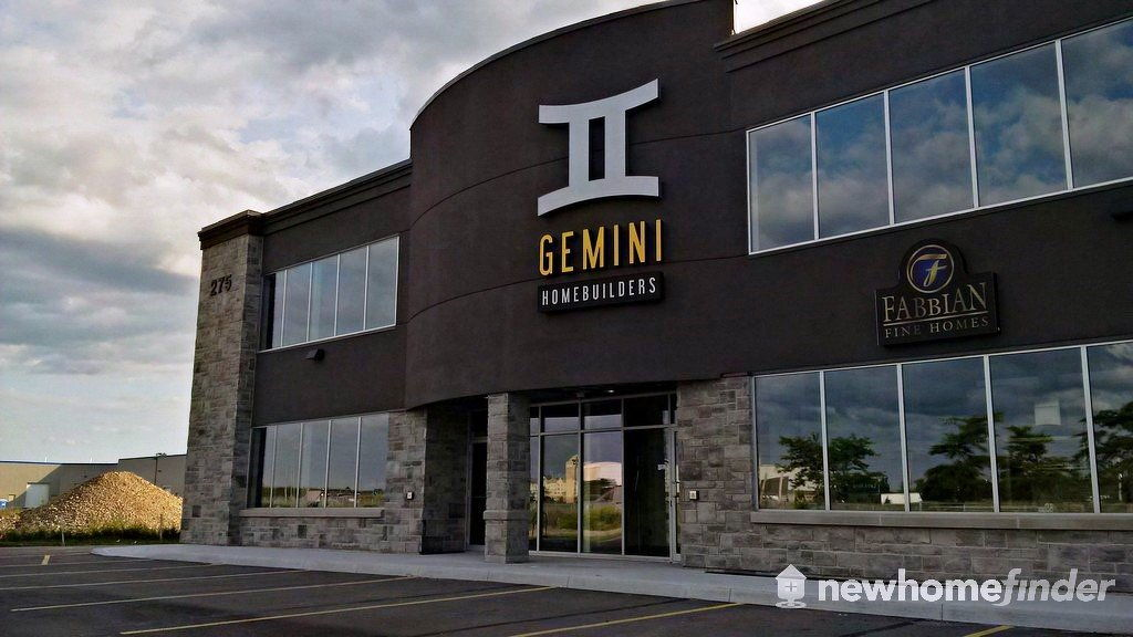 gemini homes ontario builder pricing plans