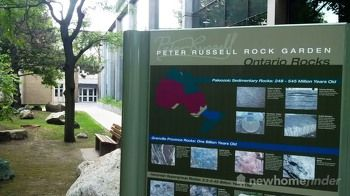 Peter Russell Rock Garden at UofW