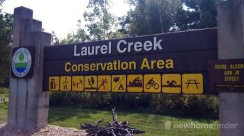 Laurel Creek Conservation Area Sign