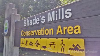 Shade's Mills sign
