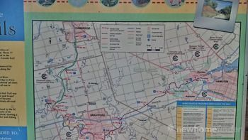 Full 77km trail to Hamilton