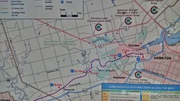 Hamilton trail to Brantford, Cambridge