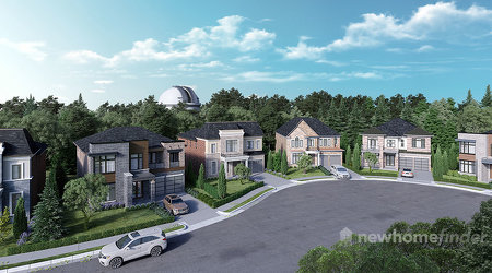 Observatory Richmond Hill New Homes