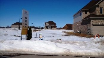 Lot 62 - March 12, 2015 (Model home in distance)