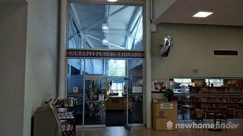 Guelph Public Library at West End Recreation Centre