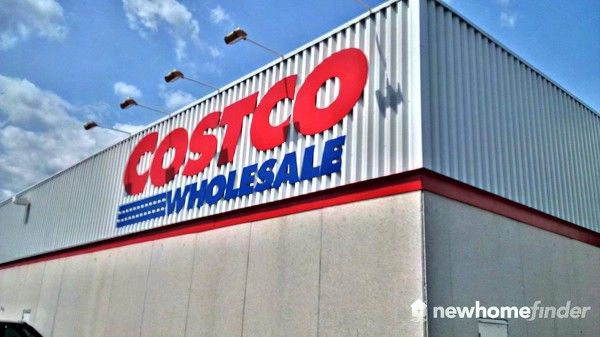 Costco and many other big box retailers are very close