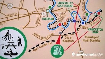 You are here - at Home Watson and Doon South Drive