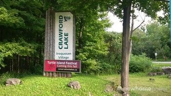 Crawford Lake Entrance off Guelph Line