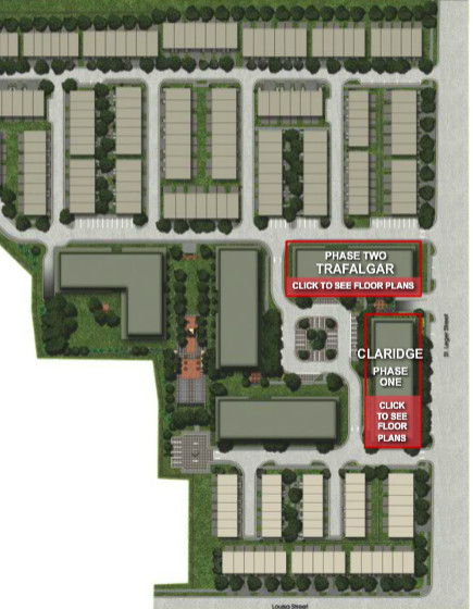 Site plan for Victoria Common in Kitchener, Ontario