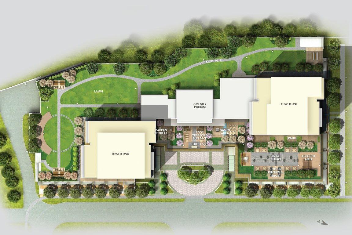 Site plan for SkyCity 2 in Richmond Hill, Ontario