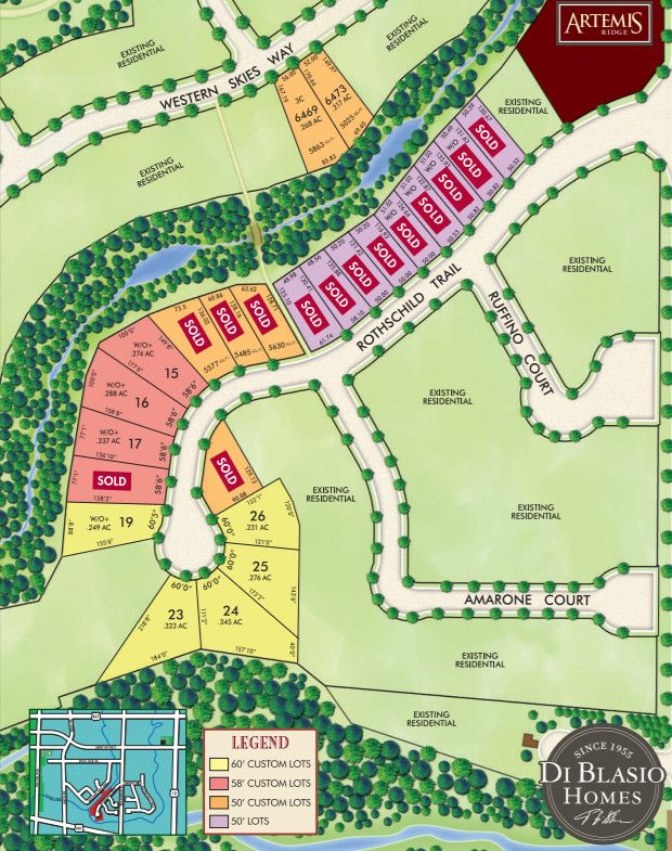 Site plan for Vintages Select in Mississauga, Ontario