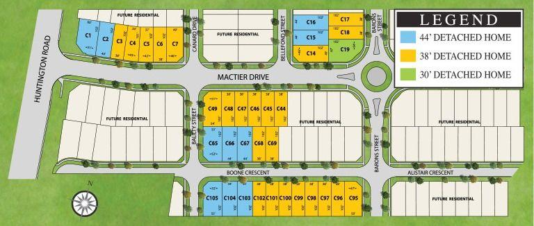 Site plan for Impression in Kleinburg (PD) in Kleinburg, Ontario