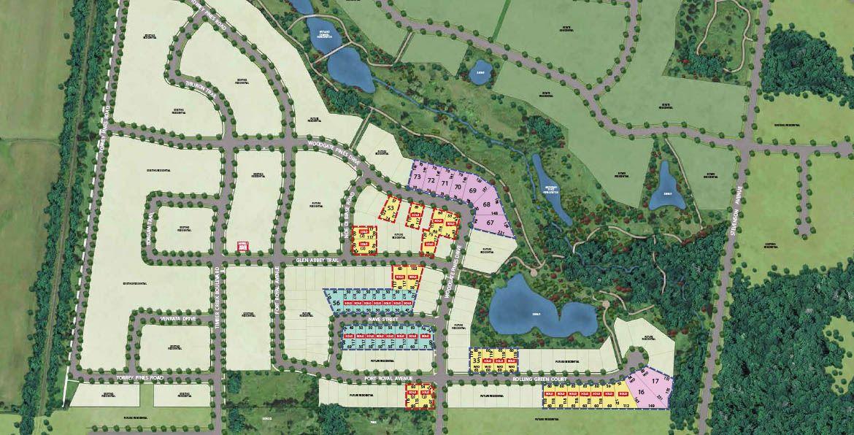 Site plan for Kleinburg Crown Estates in Kleinburg, Ontario