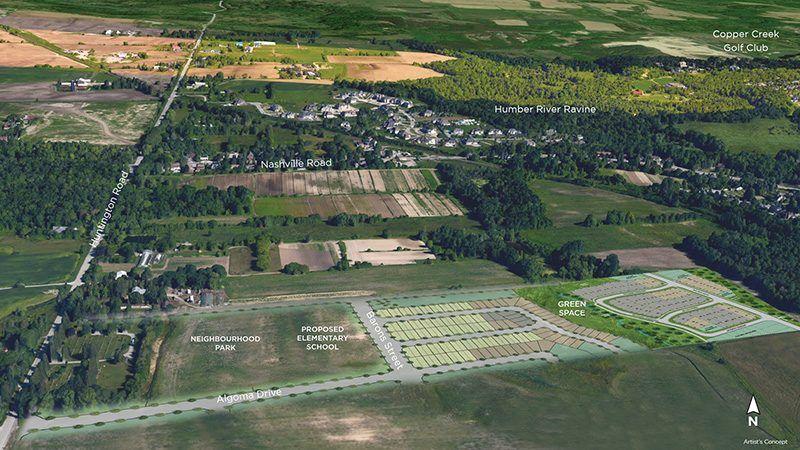 Site plan for Kleinburg Glen in Kleinburg, Ontario