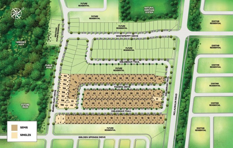 Site plan for Encore2 in Brampton, Ontario