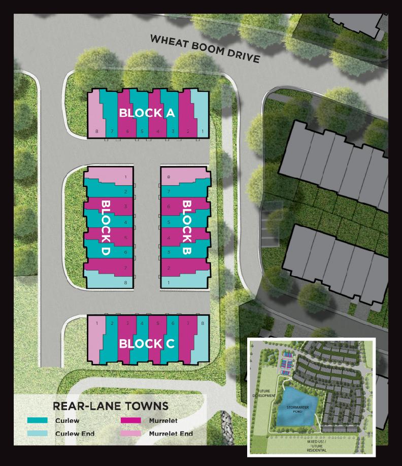 Site plan for Oakvillage (Mi) in Oakville, Ontario