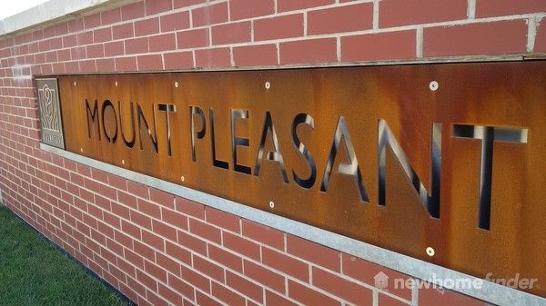 Mount Pleasant sign