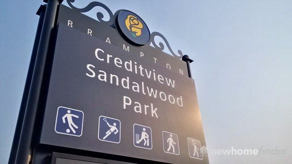Creditview Sandalwood Park Sign
