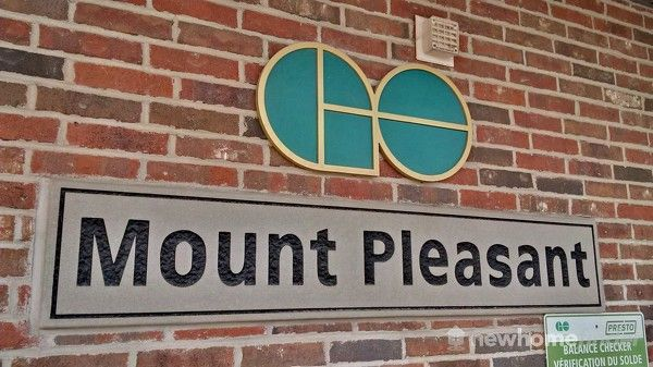 Mount Pleasant GO Station