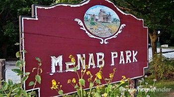 McNab Park sign
