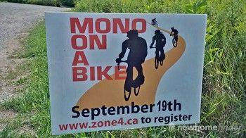 Mono on a bike
