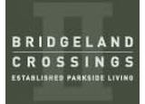 New homes at Bridgeland Crossings development by Apex Cityhomes in Calgary, Alberta