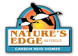 Nature's Edge new home development by Carson Reid Homes in Fergus, Ontario