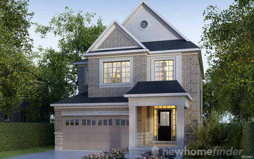 The Leigh new home model plan at the Arbor Peaks by Great Gulf in Milton
