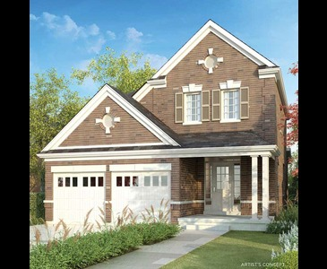 The Alexander new home model plan at the Sharon Village by Great Gulf in East Gwillimbury