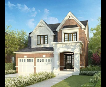 The Ashford new home model plan at the Sharon Village by Great Gulf in East Gwillimbury