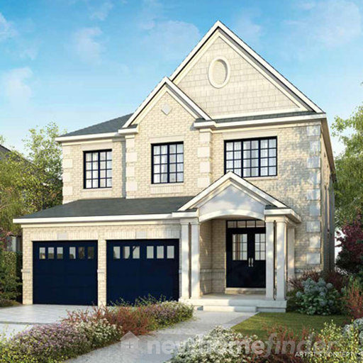 Barnes floor plan at Sharon Village by Great Gulf in East Gwillimbury, Ontario