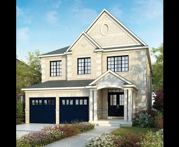 The Barnes new home model plan at the Sharon Village by Great Gulf in East Gwillimbury