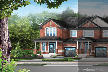The Clover 3E new home model plan at the Upper Oaks (GP) by Greenpark in Oakville