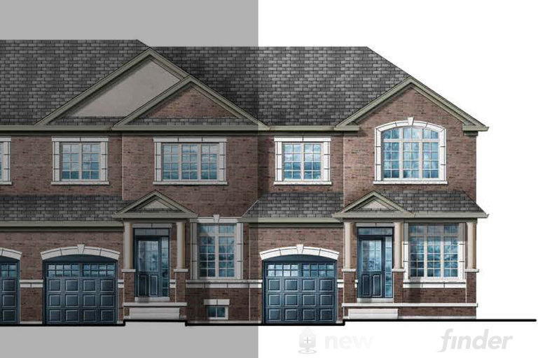 Clover 4E floor plan at Upper Oaks (GP) by Greenpark in Oakville, Ontario