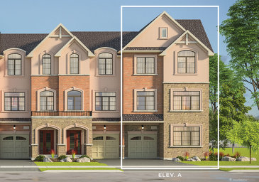 The Bellflower new home model plan at the Kaleidoscope by Liv Communities in Waterdown