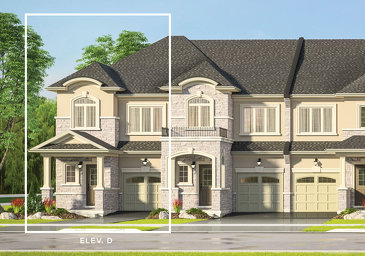 The Lime new home model plan at the Kaleidoscope by Liv Communities in Waterdown