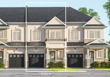 The Olive new home model plan at the Kaleidoscope by Liv Communities in Waterdown