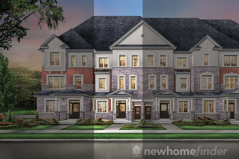 Bristol floor plan at The Classic Townhomes by Liv Communities in Brampton, Ontario