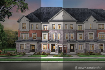 The Bristol new home model plan at the The Classic Townhomes by Liv Communities in Brampton
