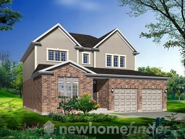 The Jack Pine new home model plan at the Warbler Woods by Sifton Properties in London