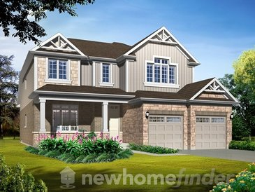The Walnut new home model plan at the Warbler Woods by Sifton Properties in London