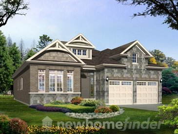 The Dogwood new home model plan at the Warbler Woods by Sifton Properties in London
