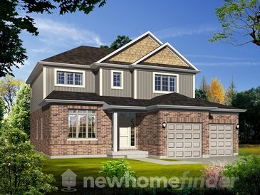 The Ironwood new home model plan at the Ballymote Woods by Sifton Properties in London