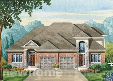 The Charlotte new home model plan at the The Villages of Sally Creek by Claysam Homes in Woodstock