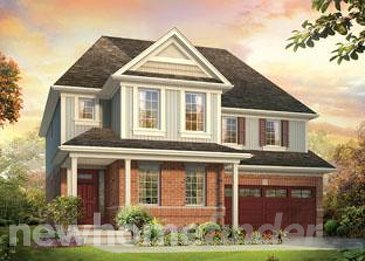 The Augusta new home model plan at the Plattsville Estates by Claysam Homes in Plattsville