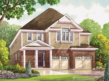 The White Oak new home model plan at the Heritage Preserve by Kenmore Homes in Kitchener